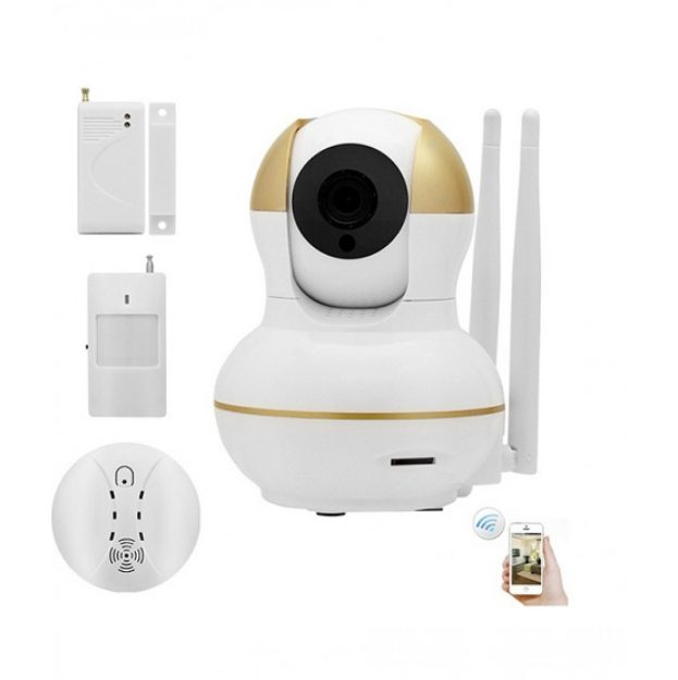 link_corporation_home_office_video_security_camera_alarm_kit